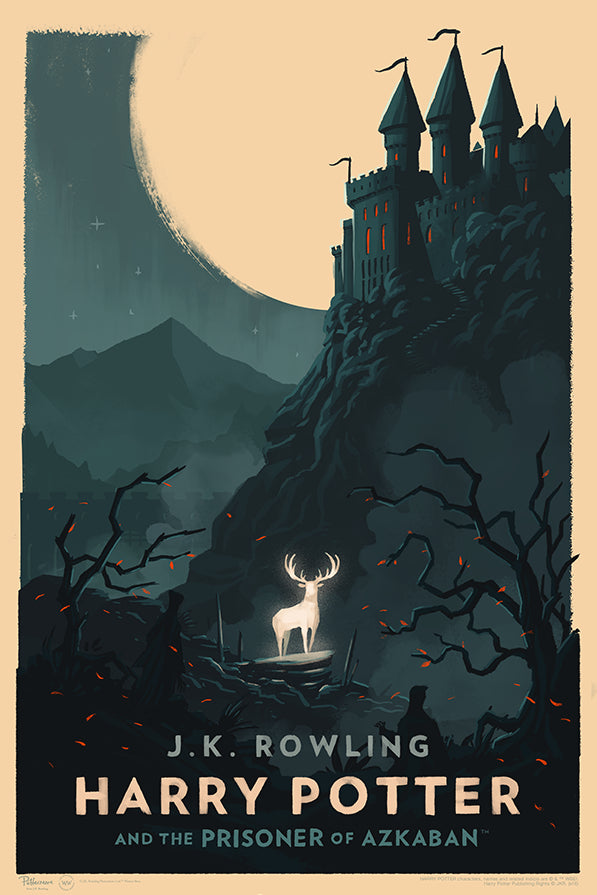 """Harry Potter and the Prisoner of Azkaban"" by Olly Moss"