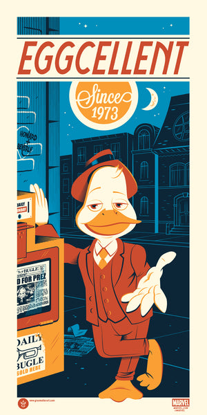 """Howard the Duck"" by Dave Perillo"