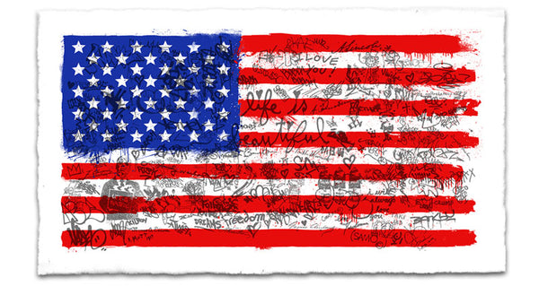 """Independence"" by Mr. Brainwash"