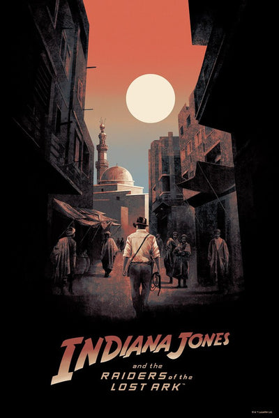 """Indiana Jones and the Raiders of the Lost Ark"" by Hans Woody"