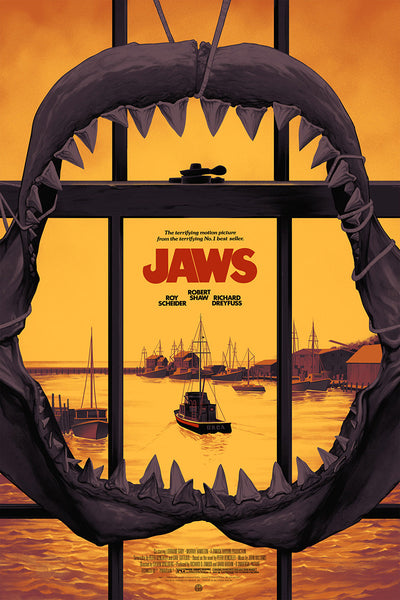 """Jaws"" (Version 2) by Phantom City Creative"