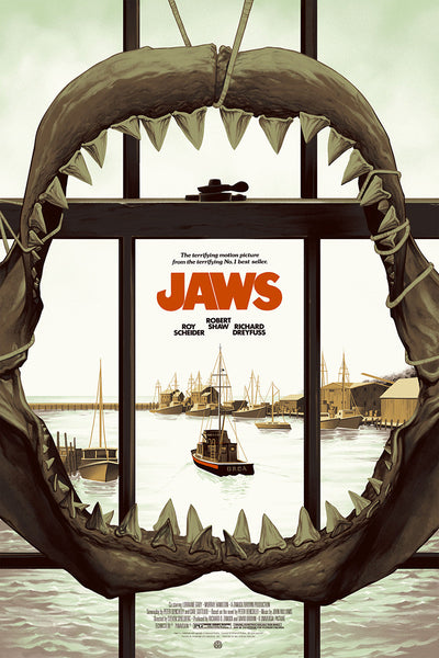 """Jaws"" (Version 1) by Phantom City Creative"