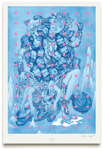"""Kali"" by James Jean. 20"" x 29"" giclee. Timed edition S/N. $200"