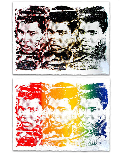 """Legend Forever"" by Mr. Brainwash"