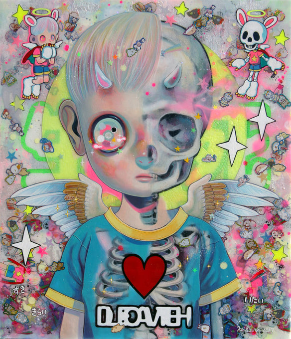 """Life and Death"" by Hikari Shimoda"
