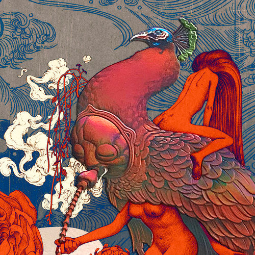 """Max Pipe"" (Detail 1) by James Jean"