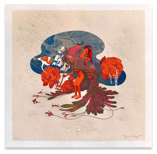 """Max Pipe"" by James Jean"