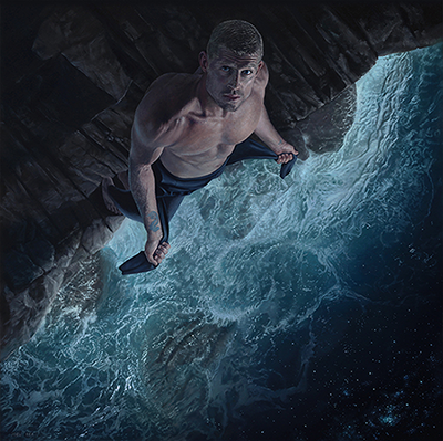 """Mick Fanning - Edge of Infinity"" by Joel Rea"