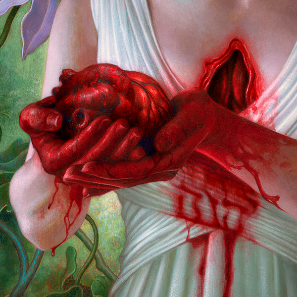 """mother!"" (Detail 7) by James Jean"