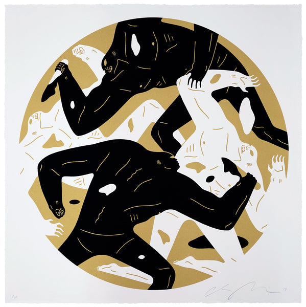 Out of darkness gold colorway by cleon peterson