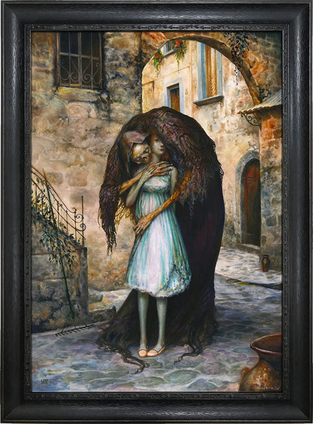 """Pesta"" (Framed Edition) by Esao Andrews"