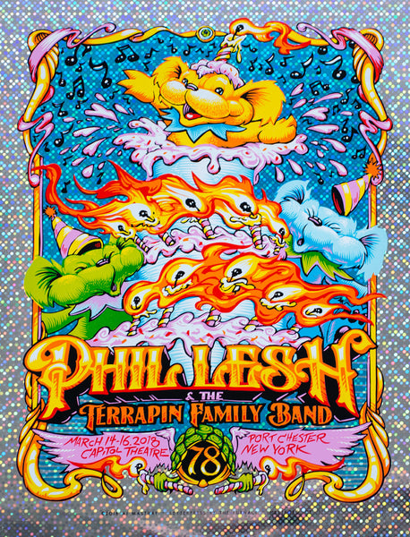 """Phil Lesh & Friends Portchester 2018"" by AJ Masthay"
