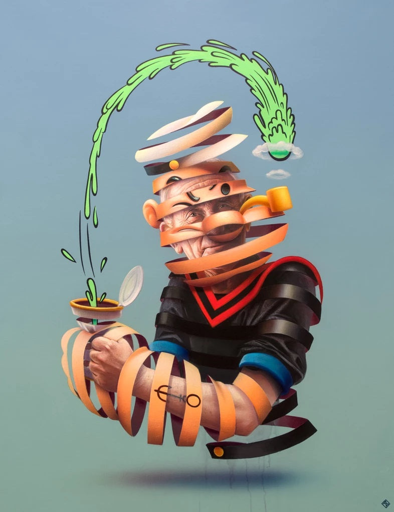 """Popeye the Sailor Man"" by Super A"