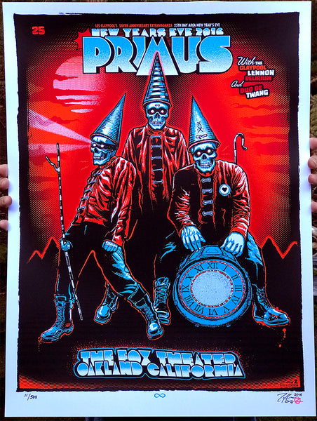 """Primus Oakland New Years 2016"" by Zoltron"
