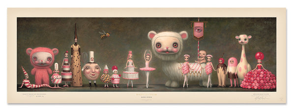 """Princess Praline and Her Entourage"" by Mark Ryden"