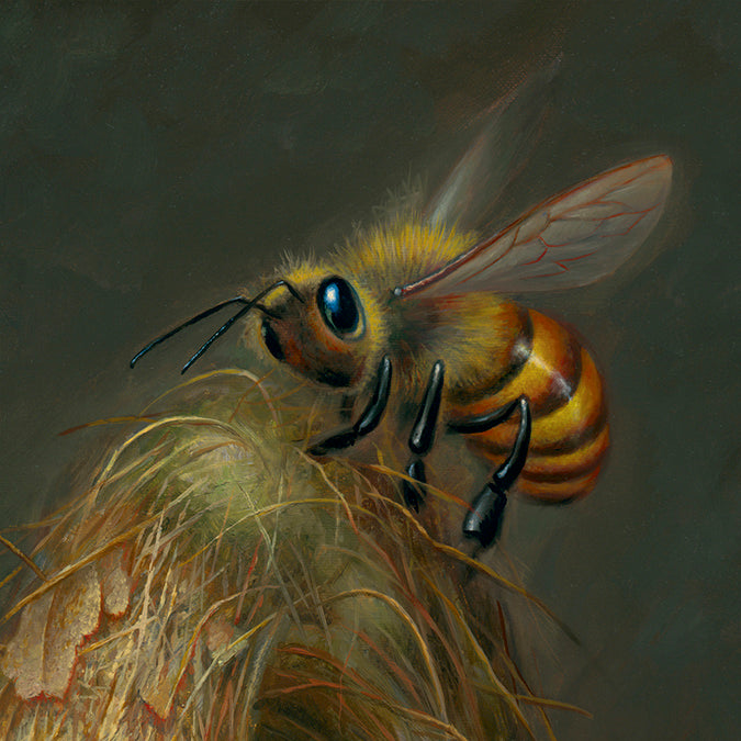 """Queen Bee"" (Detail 1) by Mark Ryden"