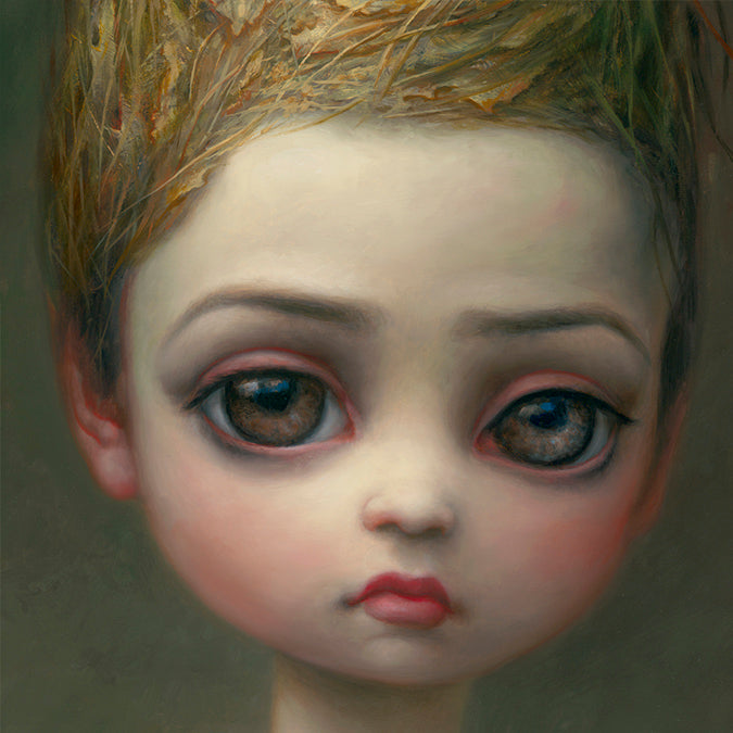 """Queen Bee"" (Detail 2) by Mark Ryden"