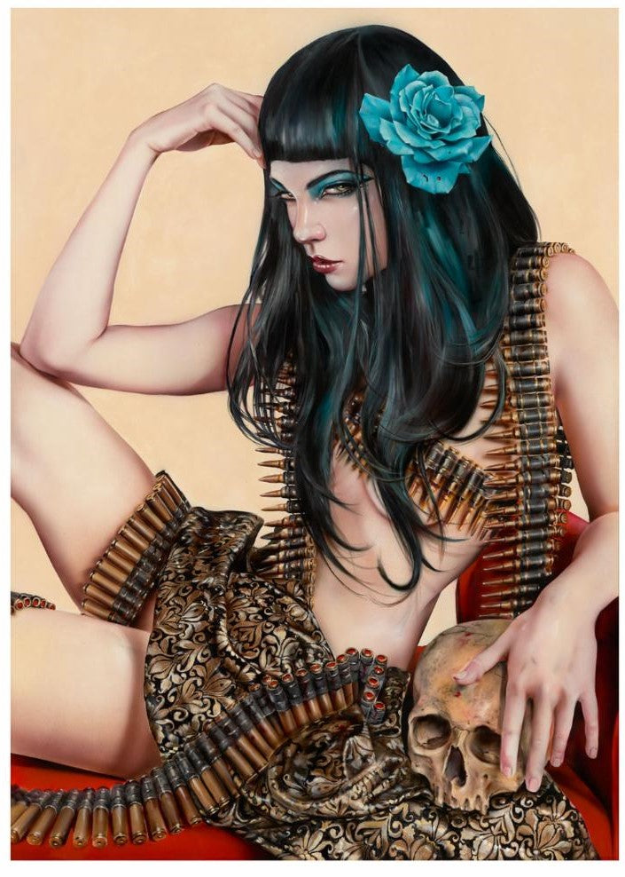 """Queen of the Land"" by Brian Viveros"