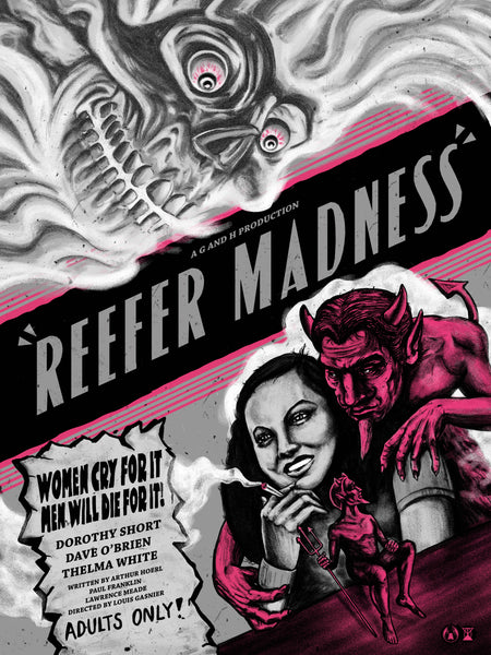 """Reefer Madness"" (Kind Purple Variant) by Zeb Love"