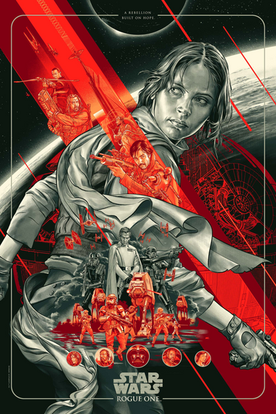 """Rogue One"" by Martin Ansin"