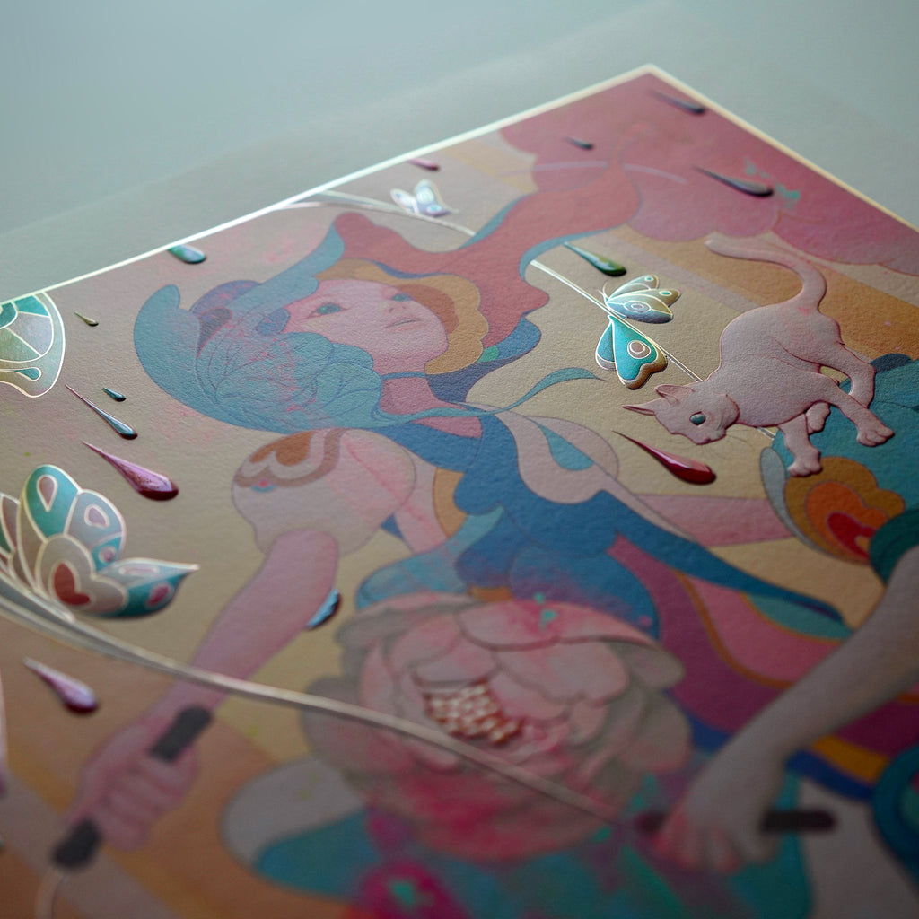 """""""Skippers"""" (Detail 10) by James Jean"""