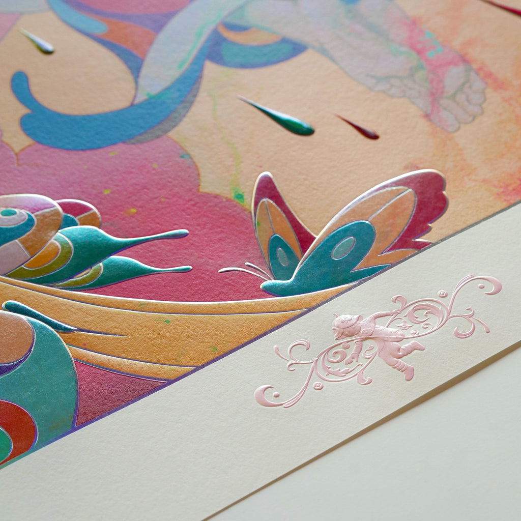 """""""Skippers"""" (Detail 12) by James Jean"""