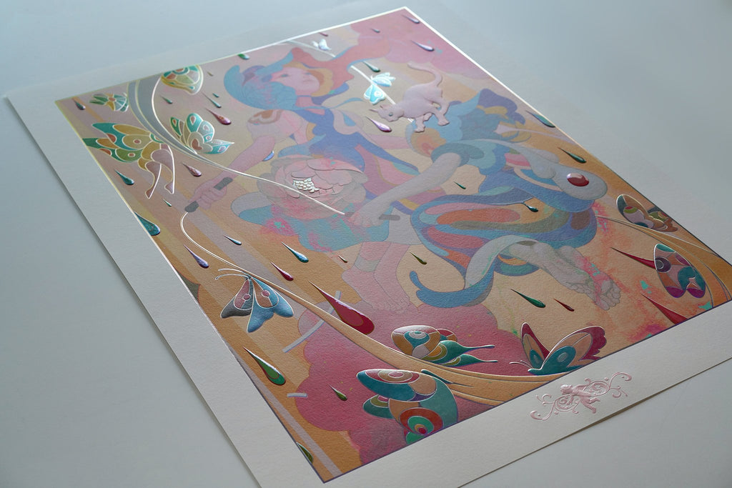 """""""Skippers"""" (Detail 8) by James Jean"""