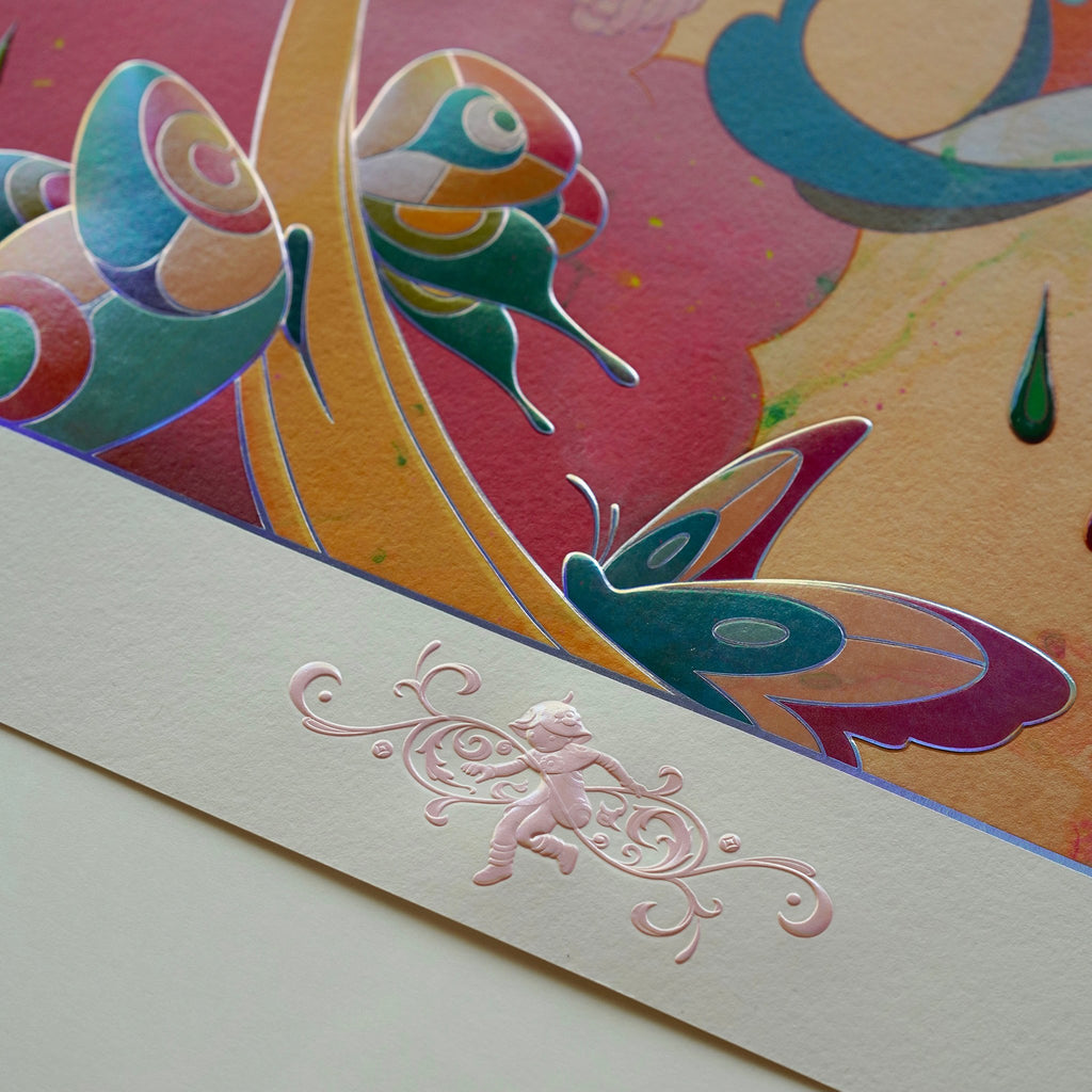"""""""Skippers"""" (Detail 9) by James Jean"""