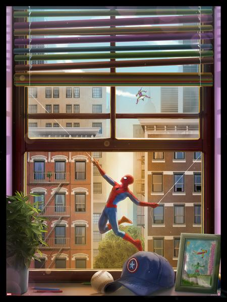 """Spider-Man Feat. Green Goblin"" by Andy Fairhurst"