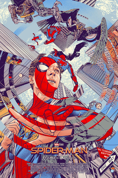 """Spider-Man: Homecoming"" by Martin Ansin"