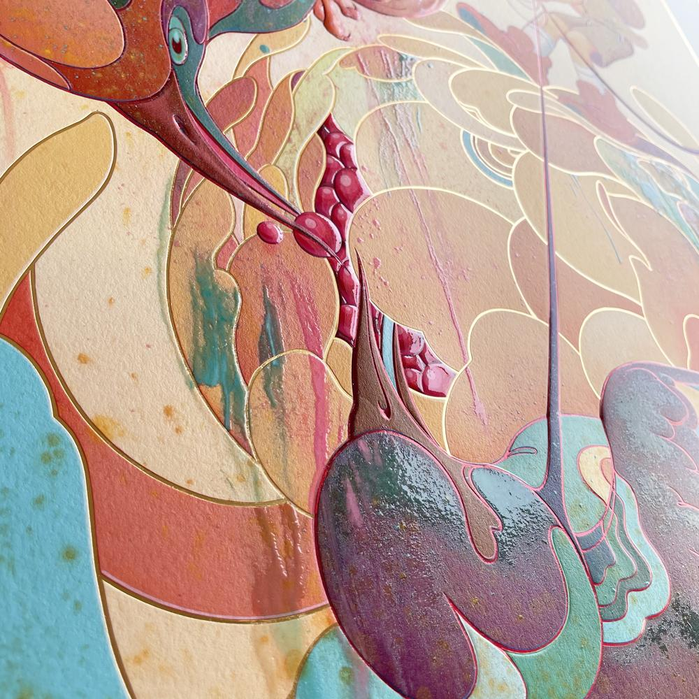 """""""Spring"""" (Detail 2) by James Jean"""