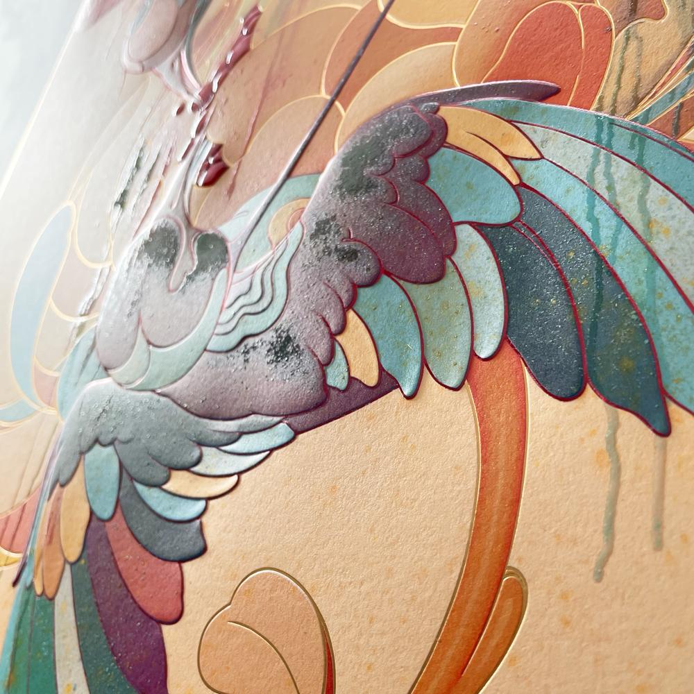 """""""Spring"""" (Detail 3) by James Jean"""