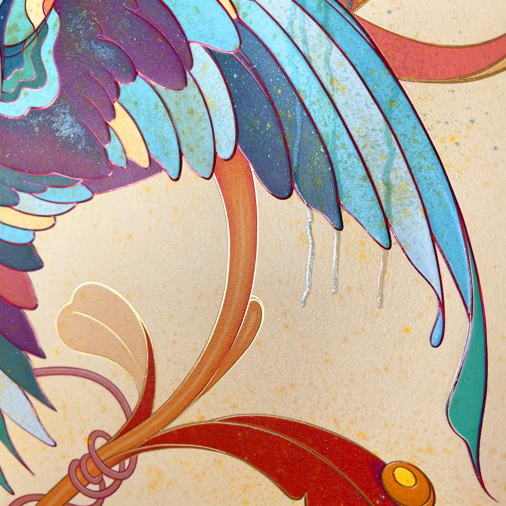 """""""Spring"""" (Detail 4) by James Jean"""