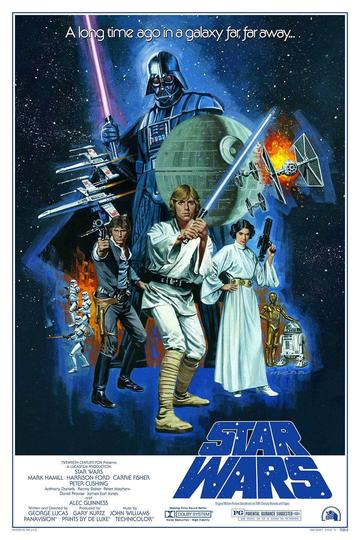 """Star Wars: A New Hope"" by Paul Mann"