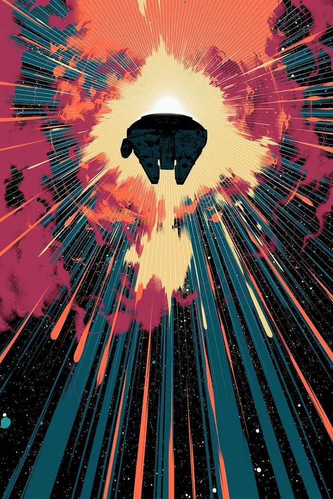 """Jump Into Hyperspace"" (Variant) by Matt Taylor"