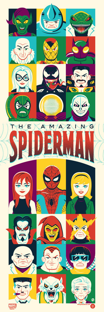 """The Amazing Spider-Man"" by Dave Perillo"