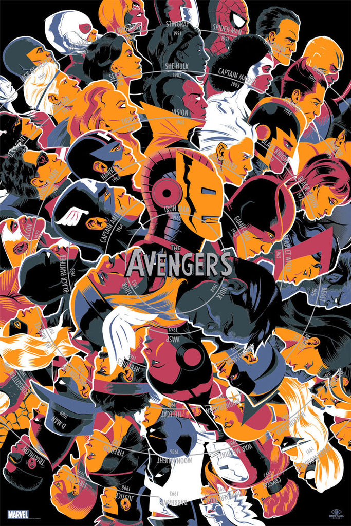 """The Avengers"" by Matt Taylor"