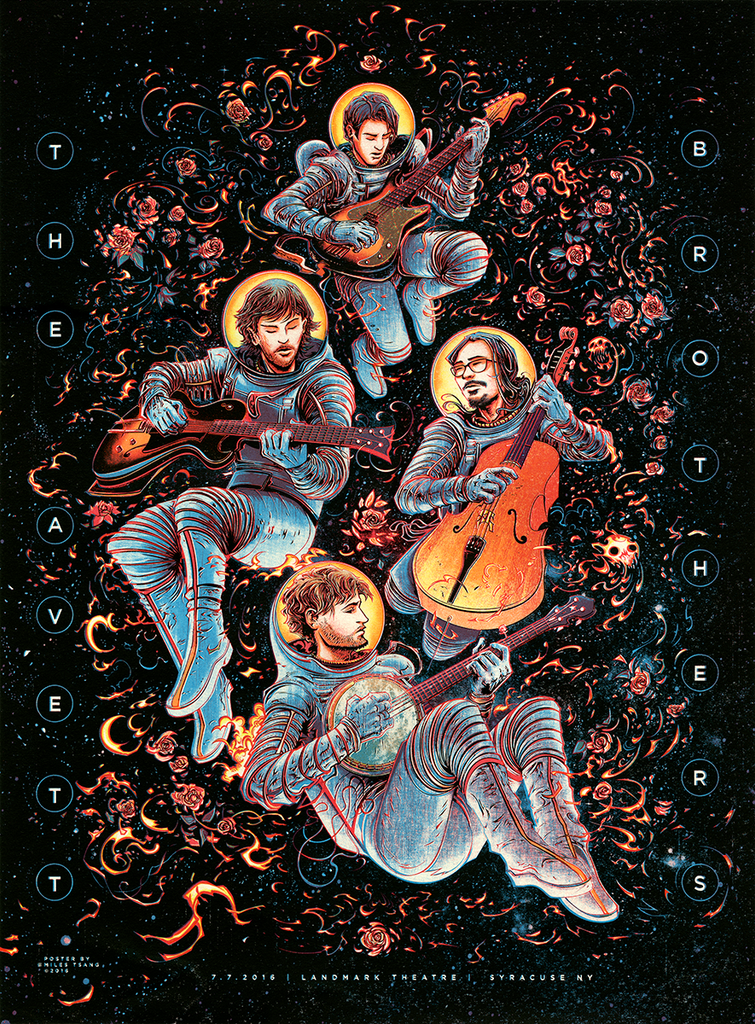 """The Avett Brothers"" by Miles Tsang"
