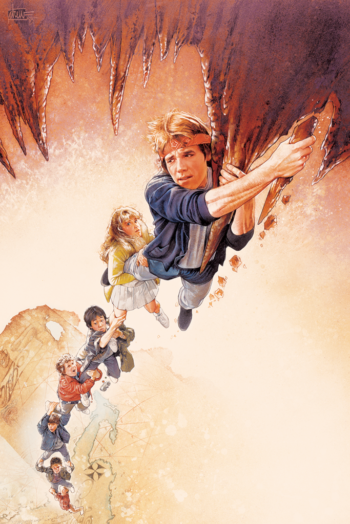 """The Goonies"" by Drew Struzan (Art Print Edition)"