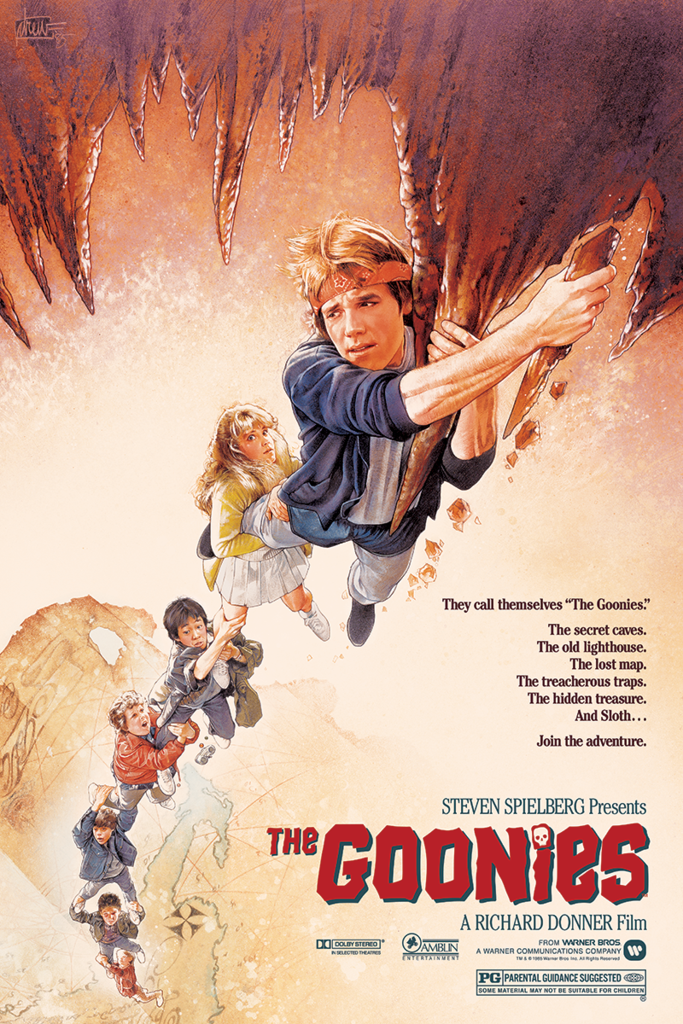 """The Goonies"" by Drew Struzan"