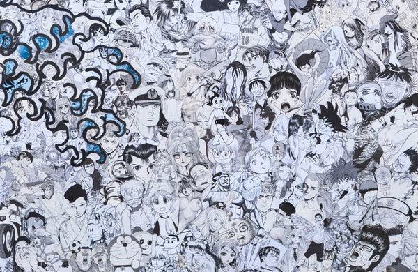 """The Great Wave"" (Detail 3) by Mr Garcin"