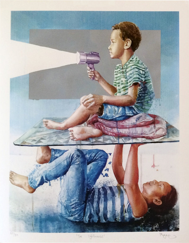 """The Lighthouse"" by Fintan Magee"