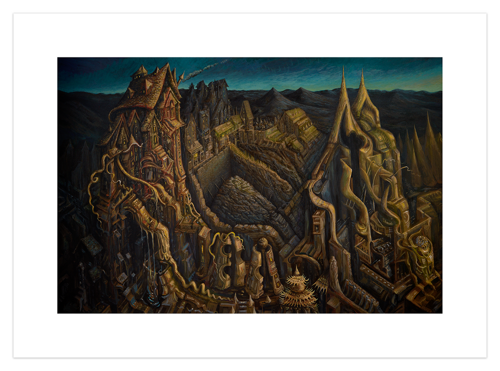 """The Mining Colony"" by David Welker"