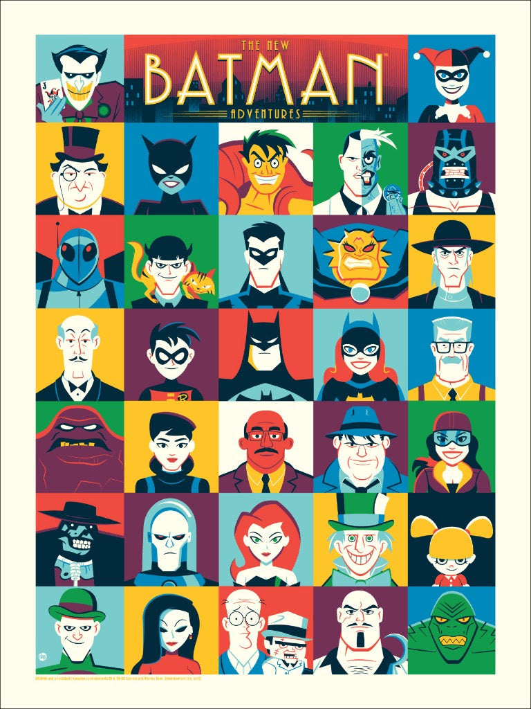 """The New Batman Adventures"" by Dave Perillo"