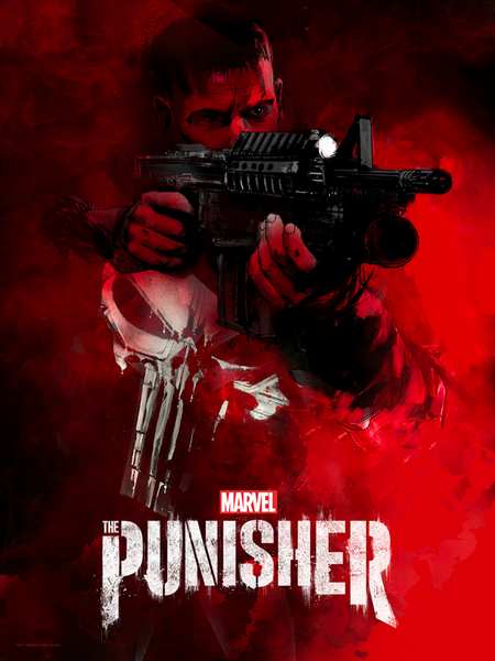 """The Punisher"" by Jock"