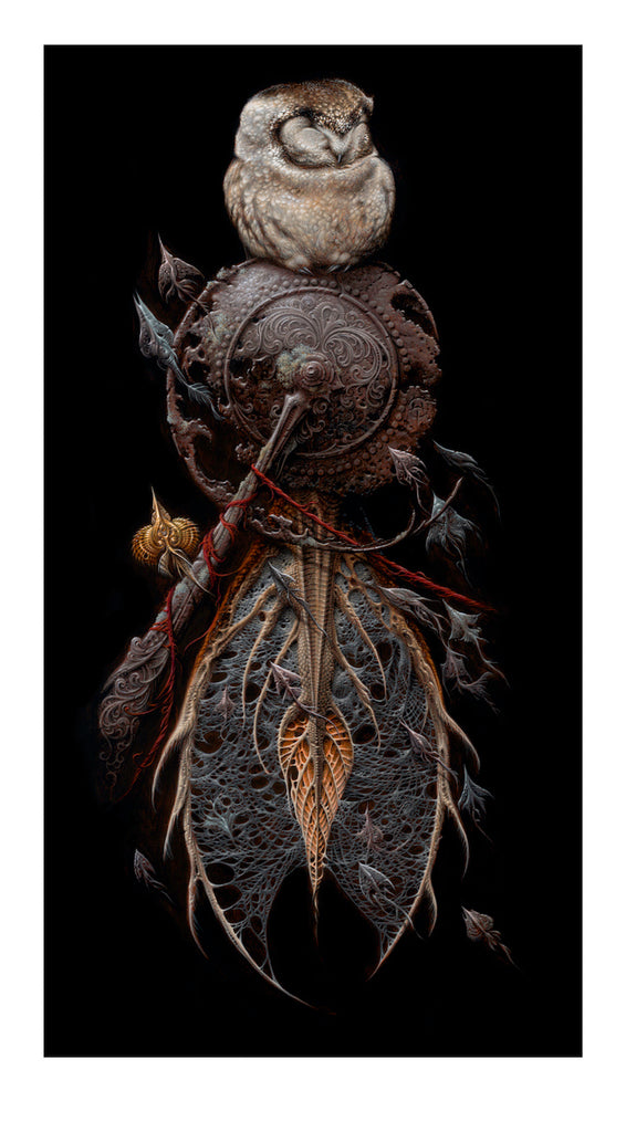 """The Snare"" by Aaron Horkey"