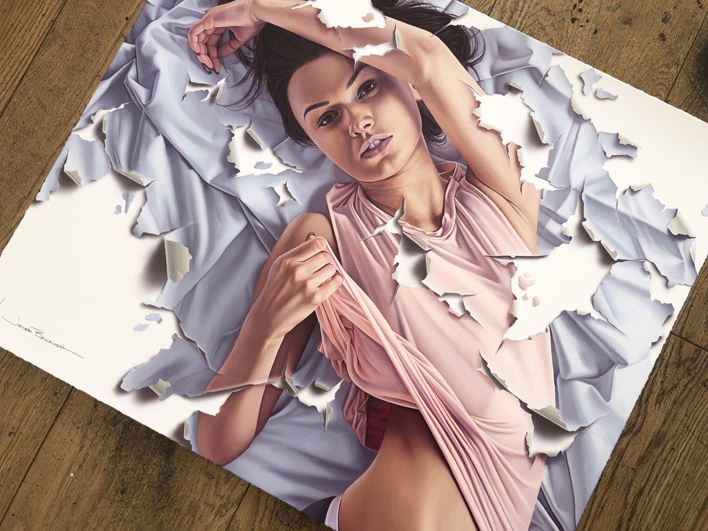 """Three Days"" (Detail 1) by James Bullough"