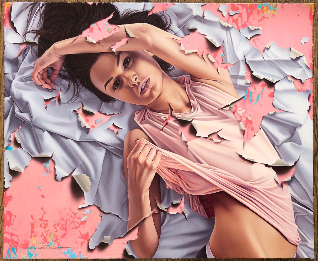 """Three Days"" (Unique Background 2) by James Bullough"