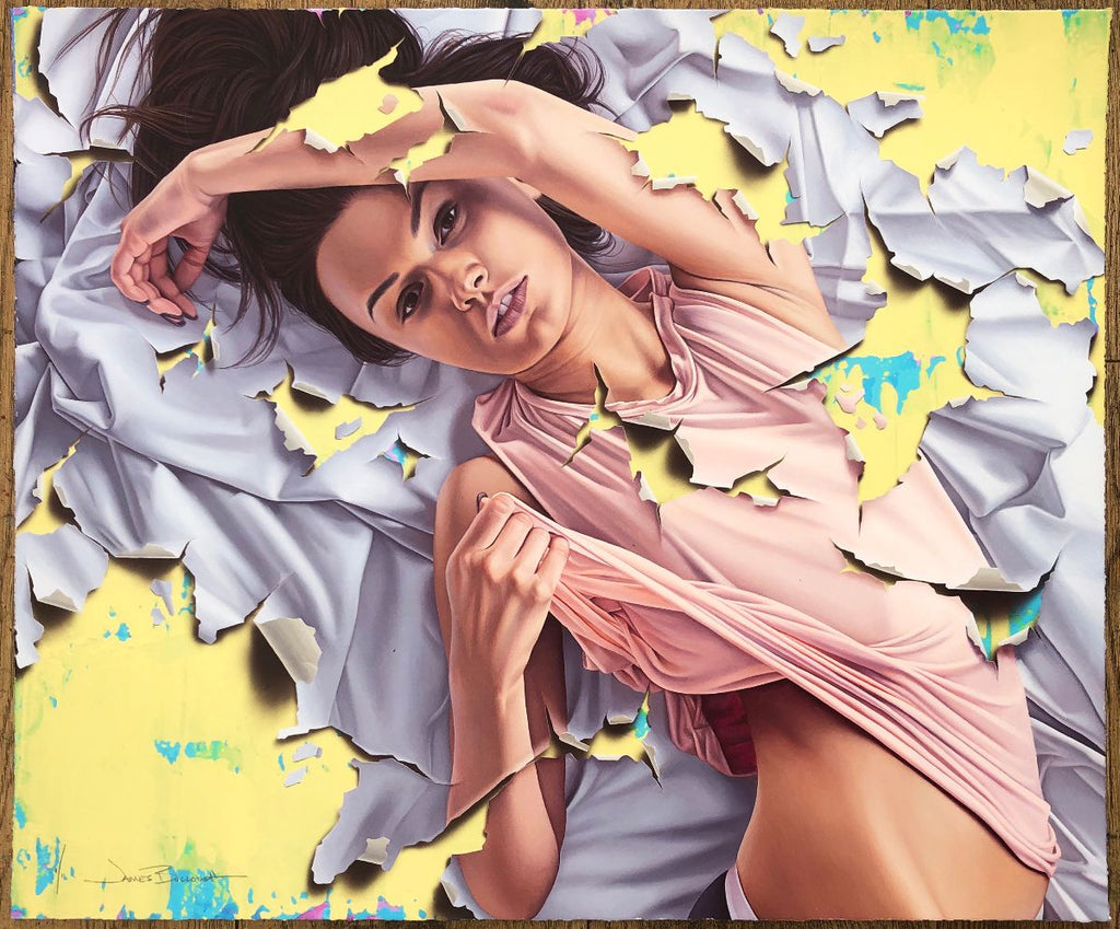 """Three Days"" (Unique Background 3) by James Bullough"