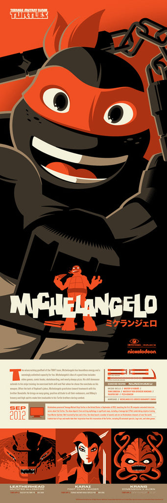 """Michelangelo"" by Tom Whalen"